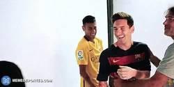 Enlace a GIF: Cuando ves que el hijo de Cristiano no para de hablar de Messi