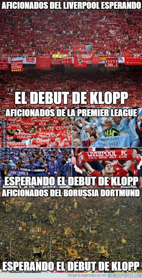 710744 - Ya faltan pocas horas para el debut de Klopp en el Liverpool