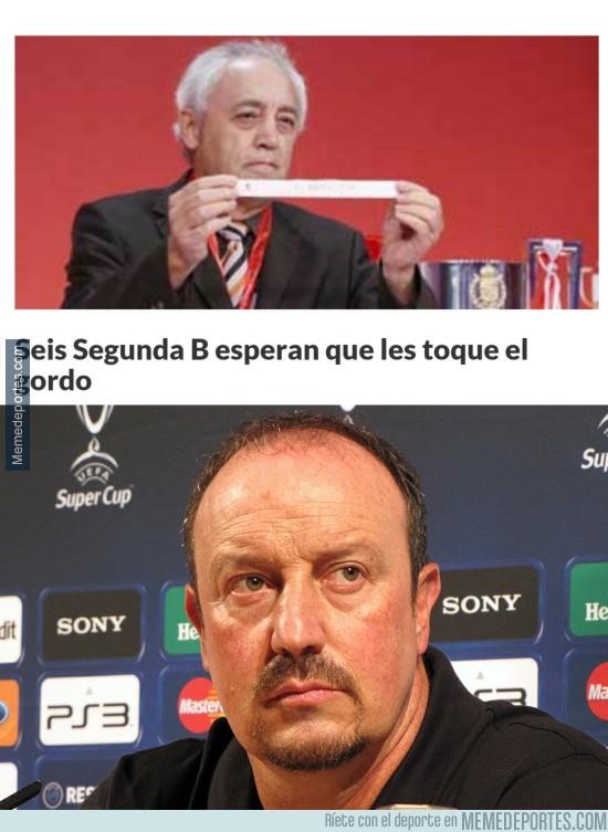 710772 - La Copa del Rey ya prepara sus enfrentamientos, Benítez el más deseado según Marca