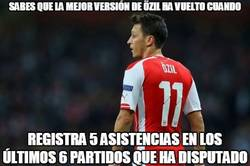 Enlace a Özil, más mago que nunca