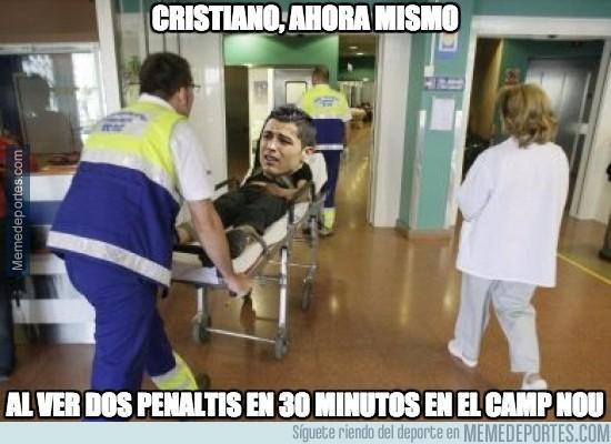 712143 - Cristiano en estado grave