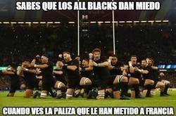 Enlace a Sabes que los All Blacks dan miedo cuando...