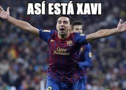 Enlace a Xavi está feliz en Qatar