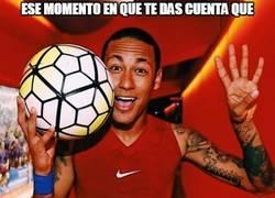 Enlace a Neymar empieza a tener números de verdadero crack