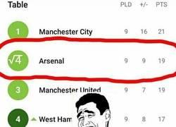 Enlace a Cuando eres fan del Arsenal y no puedes dejar de pensar en el 4° lugar