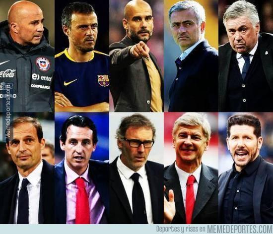 714244 - Los 10 finalistas para Entrenador del Año emitida por la FIFA.¿Quién se lo llevará?