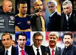 Enlace a Los 10 finalistas para Entrenador del Año emitida por la FIFA.¿Quién se lo llevará?