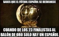 Enlace a Sabes que el fútbol español se desvanece...