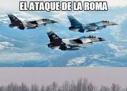 Enlace a La defensa y ataque de la Roma