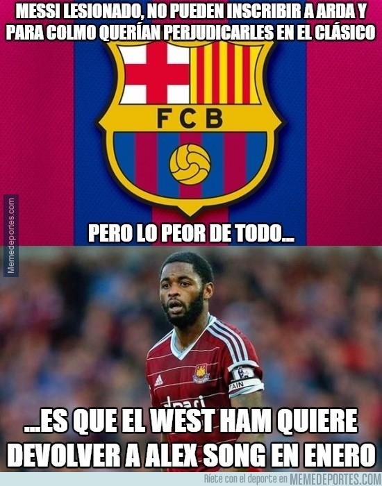716273 - Se avecina un grave problema para el Barça