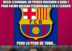 Enlace a Se avecina un grave problema para el Barça