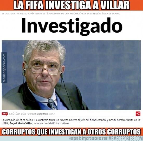 716302 - Cuando eres corrupto y crees que investigar a otro es justo