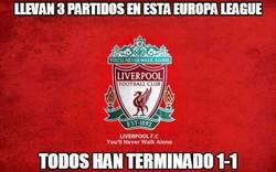 Enlace a El Liverpool está abonado al mismo resultado