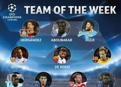 Enlace a Éste es el mejor equipo de la semana de la UCL elegido por la UEFA