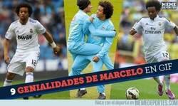 Enlace a LISTA: Las mejores genialidades de Marcelo, cuando se trata de ir al ataque es de los mejores