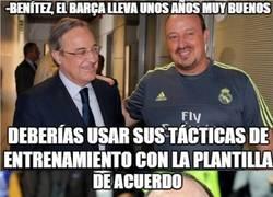Enlace a Benitez ha descubierto la clave