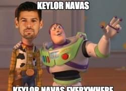 Enlace a Está en todas Keylor