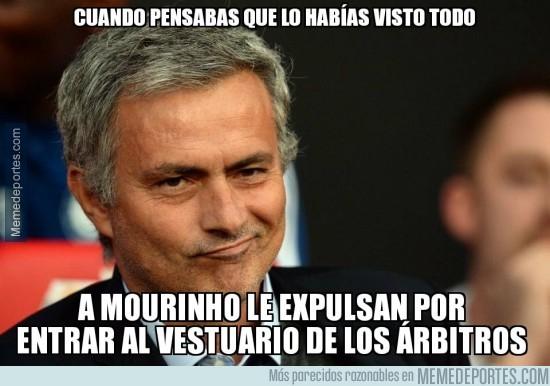 717571 - Mourinho la sigue liando en Inglaterra