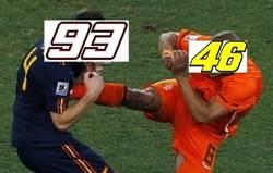 Enlace a Rossi contra Márquez