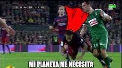 Enlace a Mientras tanto, Neymar...