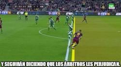 Enlace a Claro fuera de juego en el gol de Suárez