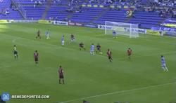 Enlace a GIF: Golazo de Juan Villar al Mirandés. Grandísima jugada en equipo