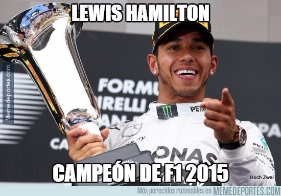 719268 - Hamilton, campeón de la F1, ¡más que merecido!