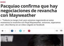 Enlace a Pacquiao vs Mayweather II