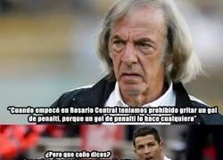 Enlace a Cristiano no está de acuerdo con Menotti