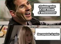 Enlace a Messi sorprendido tras el resultado