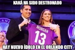 Enlace a Kaká ha sido destronado