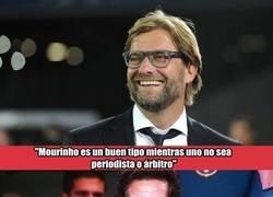 Enlace a Mourinho es de pocos amigos