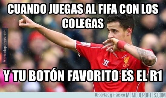 722142 - El botón favorito de Coutinho en el FIFA