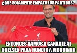 Enlace a Klopp callando bocas ya con el Liverpool