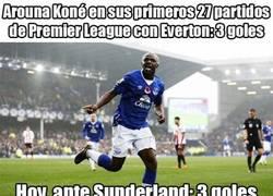 Enlace a Koné on fire hoy ante el Sunderland