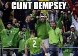 Enlace a Clint Dempsey, el Toquero yankee