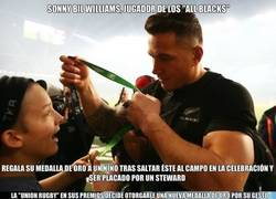 Enlace a Grandes gestos de Bill Williams y la Union Rugby