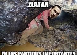 Enlace a Zlatan igual que siempre