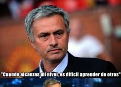 Enlace a El ego de Mourinho está por las nubes