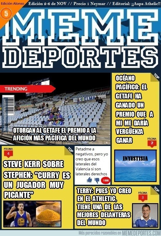726613 - Ya está aquí la revista de Memedeportes: edición Alonso