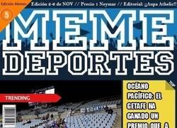 Enlace a Ya está aquí la revista de Memedeportes: edición Alonso