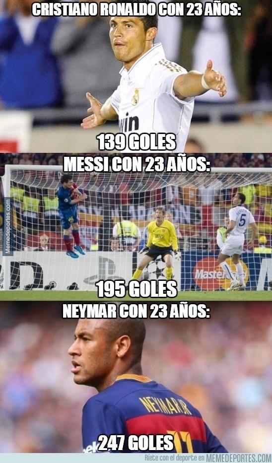 726804 - Son sólo números, pero dicen mucho de lo que es Neymar