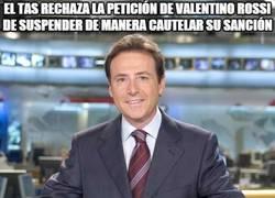 Enlace a El TAS rechaza la petición de Valentino Rossi de suspender de manera cautelar su sanción