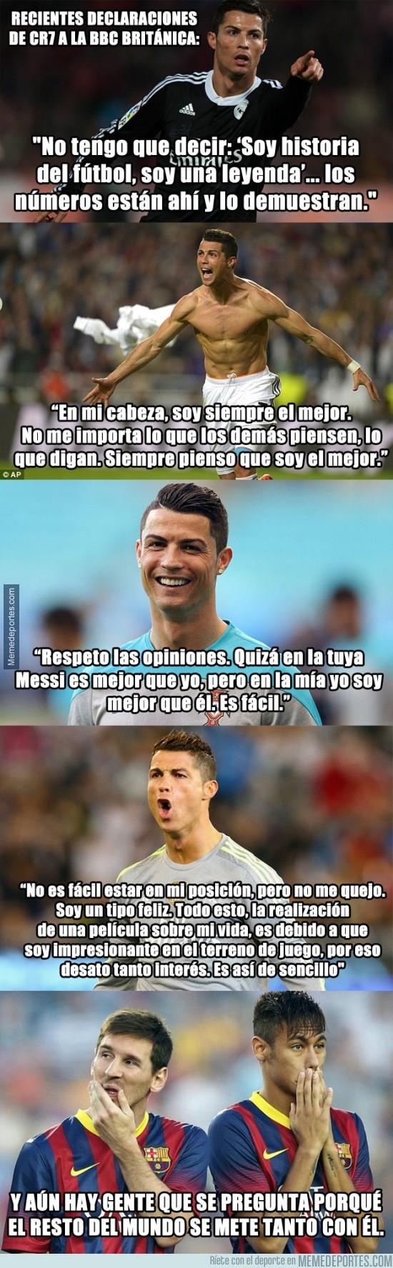 727315 - Cristiano Ronaldo no tiene abuela. Atención a sus declaraciones