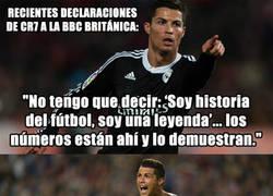 Enlace a Cristiano Ronaldo no tiene abuela. Atención a sus declaraciones