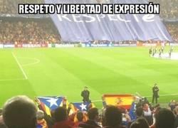 Enlace a Parece que sí saben respetar en el Camp Nou