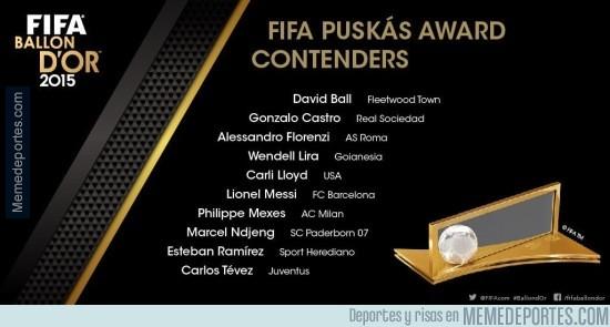 727567 - ¡Los nominados al Premio Puskás ya están aquí!