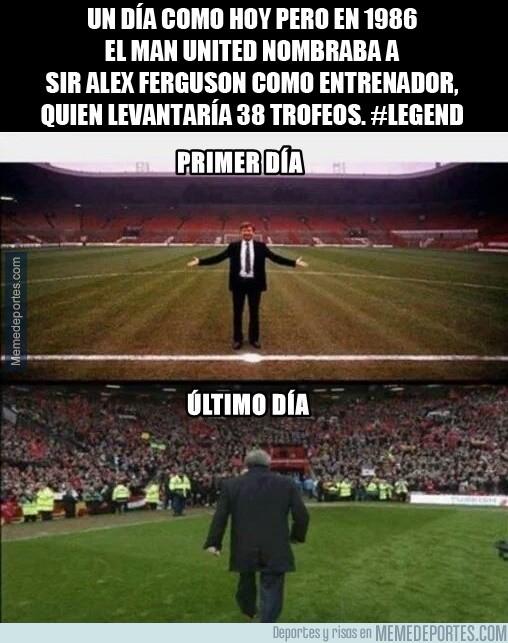 727579 - Tal día como hoy empezaba la leyenda de Sir Alex Ferguson