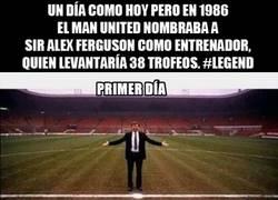 Enlace a Tal día como hoy empezaba la leyenda de Sir Alex Ferguson