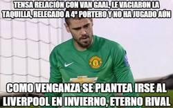 Enlace a Valdés planeando su venganza a Van Gaal